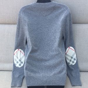 BURBERRY BRIT Cashmere Sweater with Novacheck